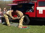 Демонстрация спасательной техники, средств
